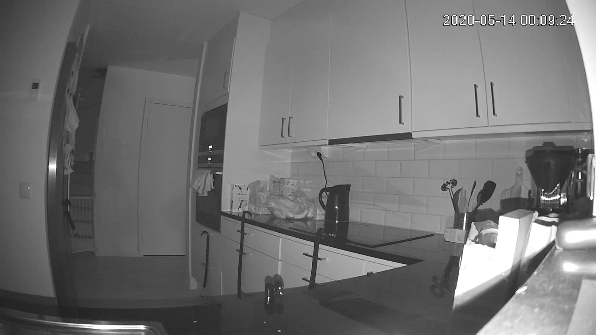 Swibe detect stillbild i helt mörkt rum